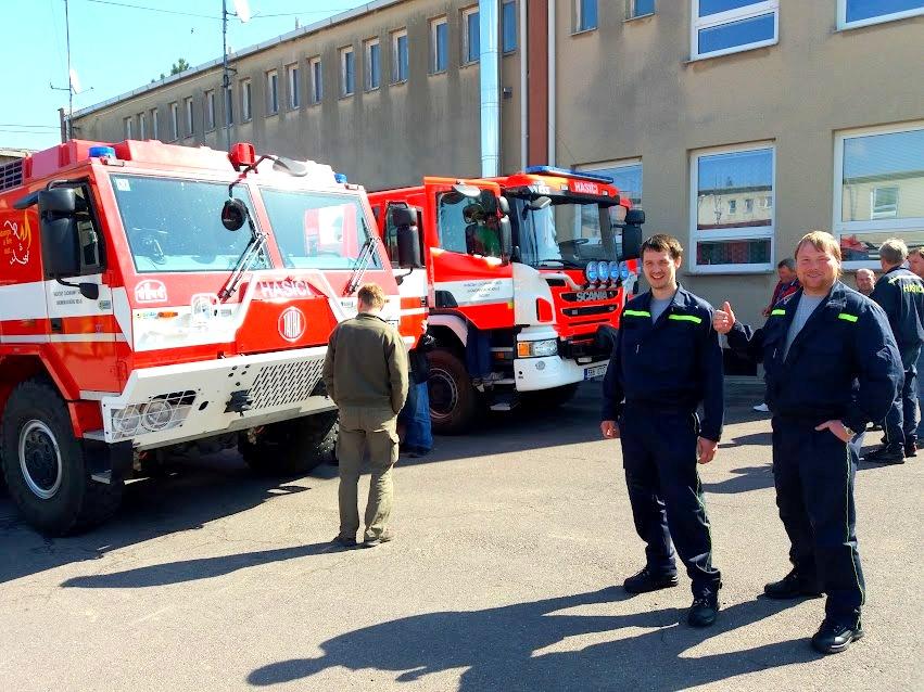 29. 3. 2017 pravidelné školení velitelů a 30. a 31. 3. 2017 pravidelné školení strojníků na PS Znojmo
