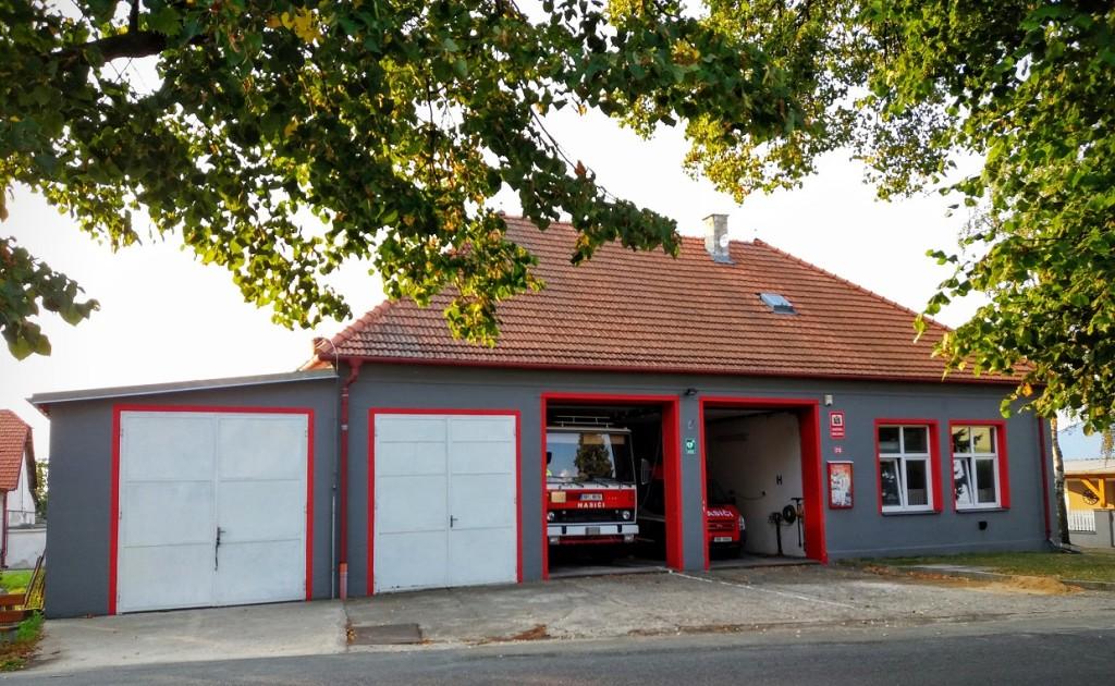 hasičárna Višňové m
