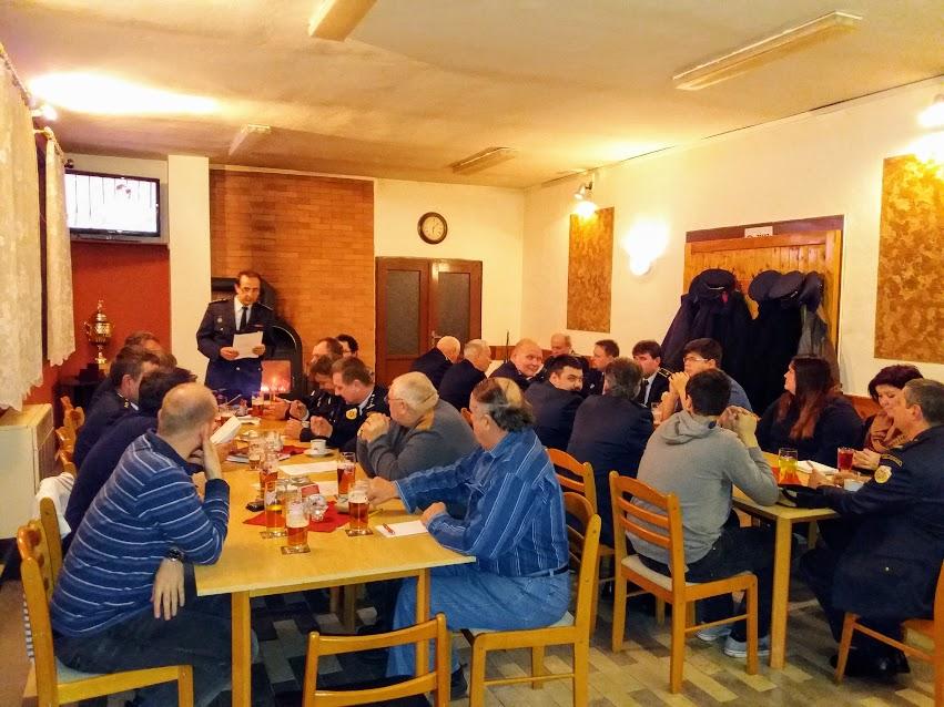 11. 1. 2015 Okrsková hodnotící schůze Horní Dunajovice
