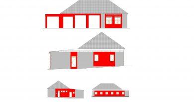 Zateplení a nová fasáda hasičské zbrojnice