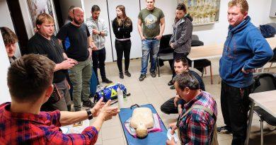 Proběhlo školení AED